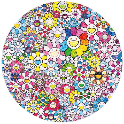 Takashi MURAKAMI - Print-Multiple - Happy x A Trillion Times: Flowers