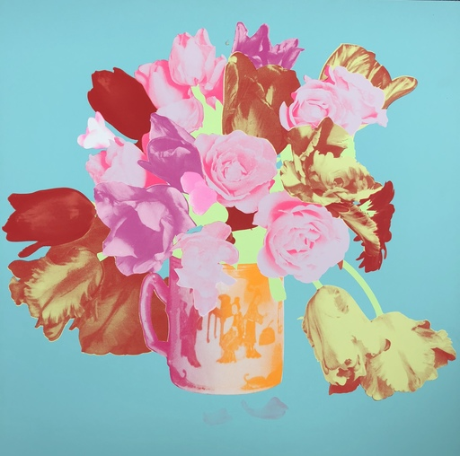 Francesco SCAVULLO - 版画 - Fleurs