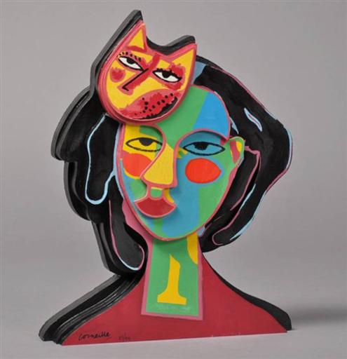 CORNEILLE - Print-Multiple - Cat In Love