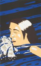 Alex KATZ - Grabado - The Swimmer