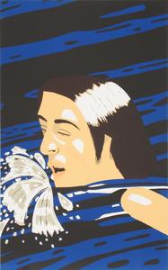 Alex KATZ - Stampa Multiplo - The Swimmer