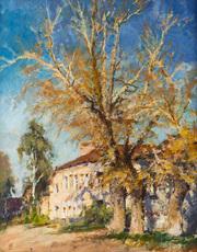 Vladislav TATARINOV - Painting - A Quiet Street