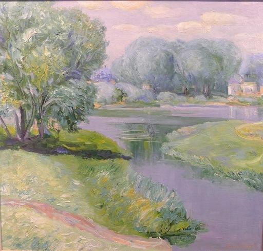 Gennady ZAVIZIONNY - Peinture - La rivière tranquille