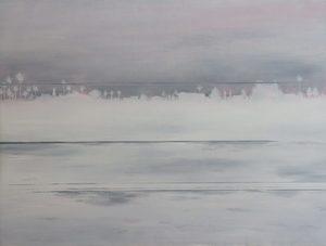 Martin AITKEN - Painting - « Lost in a strange night »