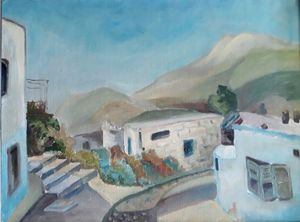 Sima BEN ARI - Painting - Zeffat