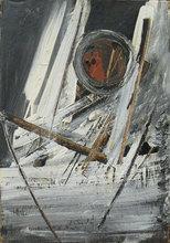 Piero RUGGERI - Pintura - Uomo e paesaggio