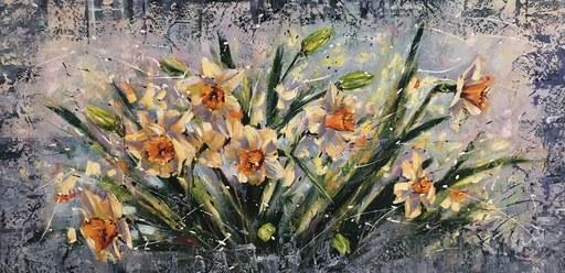 Diana MALIVANI - Pintura - Spring Flowers