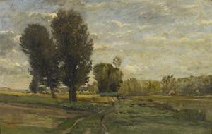 Charles François DAUBIGNY, Auvers, les Plumets