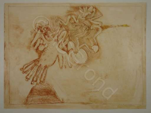 Georges ITEM - Peinture - Dessin Gravé