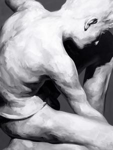 Yoann MERIENNE - Painting - Le jeune marbre II