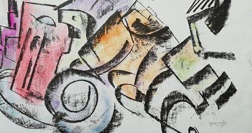 Antonio MARASCO - Disegno Acquarello - senza titolo