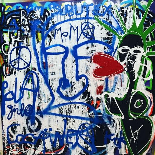 KOKIAN - Peinture - MOMA SUBUTEX