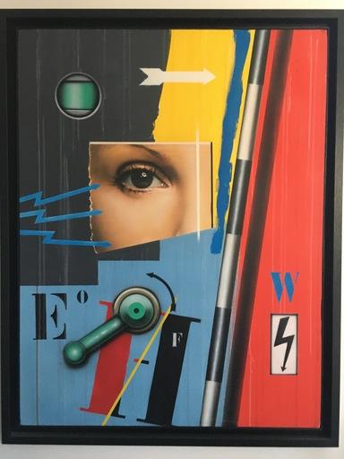 Peter KLASEN - Peinture - REGARD