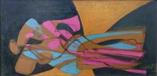 Stanley William HAYTER - Peinture - Recumbent Blonde