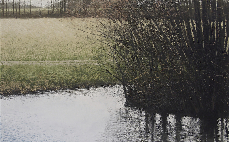 Benoît TRIMBORN - Peinture - Le ruisseau