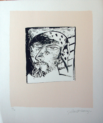 John BELLANY - Druckgrafik-Multiple - Self Portrait