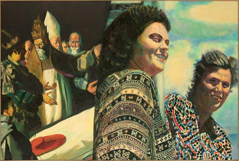 Ilya KABAKOV - Painting - Two Times Nr. 8