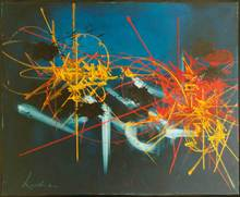 """Georges MATHIEU (1921-2012) -  l' espérance cruelle"""""""