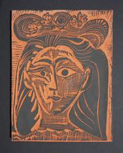 Pablo PICASSO (1881-1973) - Femme au Chapeau Fleuri (AR 521)