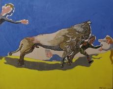 Jorge CASTILLO - Pintura - Tauromaquia