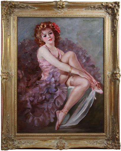 Mária SZANTHO - Pintura - A Ballerina
