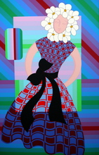 Victor VASARELY (1906-1997) - Flower girl