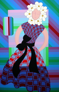 Victor VASARELY, Flower girl