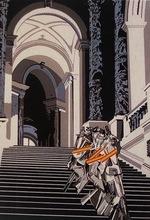 EQUIPO CRÓNICA - Print-Multiple - Desnudo bajando la escalera