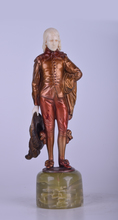 Otto POERTZEL - Skulptur Volumen - A Noble Gentleman
