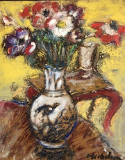 Michel NO - Painting - Bouquet de fleurs