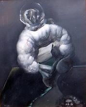 Alfonso COSTA BEIRO - Pintura - hombre caracola