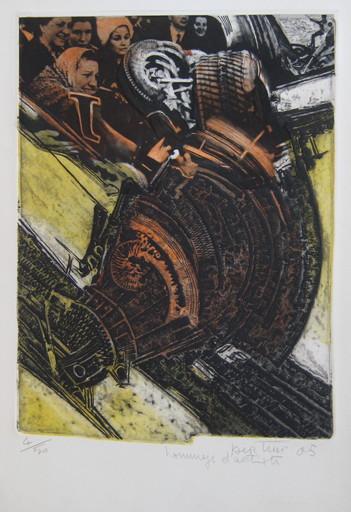 Gianni BERTINI - Print-Multiple - GRAVURE 2005 SIGNÉE AU CRAYON NUM/50 HANDSIGNED NUMB ETCHING