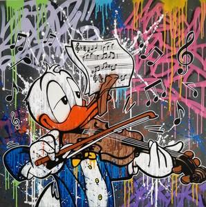 ZOKAR - Painting - The Violinist