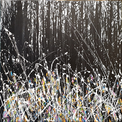 Rafael DE TOURS - Peinture - Dark forest MMT3