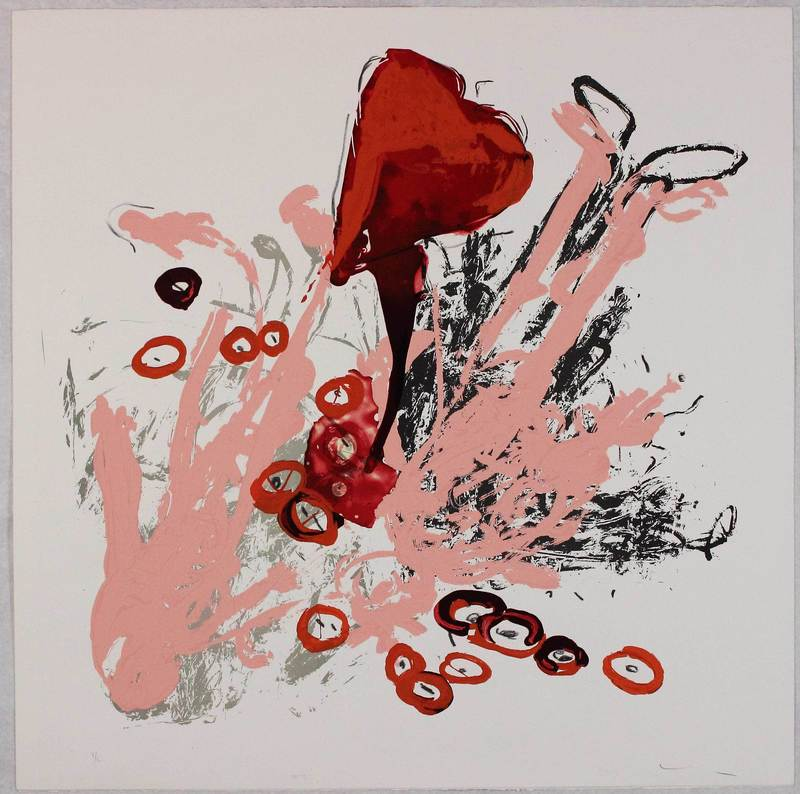 Mario SCHIFANO - Grabado - Untitled from 'Best seller' portfolio