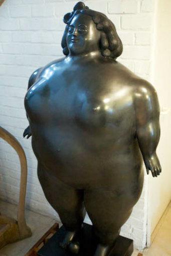 Fernando BOTERO - Sculpture-Volume - La Poupee