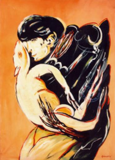Remo BRINDISI - Gemälde - Pastorale