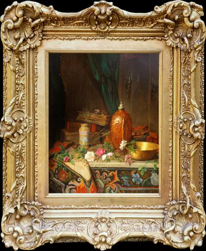 Charles POUNOT - Gemälde - Still Life