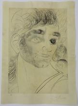 Salvador DALI (1904-1989) - Comment out es yeux? Tiens! un been et un noir...
