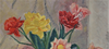 Konrad CRAMER - Pintura - Still life with flowers