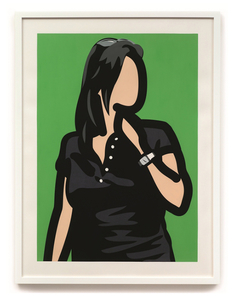 Julian OPIE - Estampe-Multiple - Tourist with watch