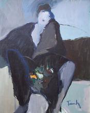 Isaac TARKAY - Peinture - Young Woman