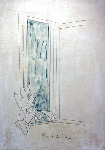 Mario SCHIFANO - Painting - <senza titolo