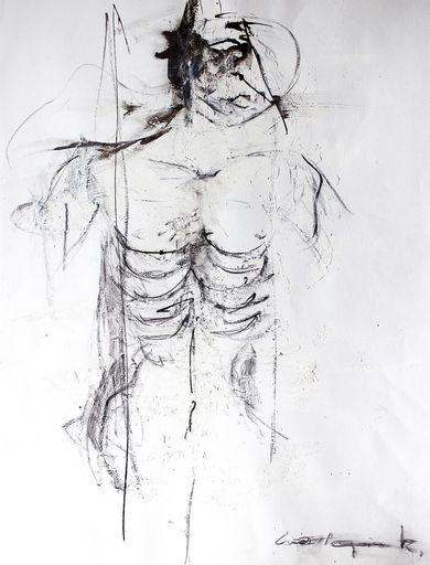Guillaume KALT - Dibujo Acuarela - Arlequin    (Cat N° 6144)