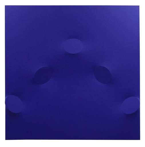 Turi SIMETI - Peinture - 5 ovali blu