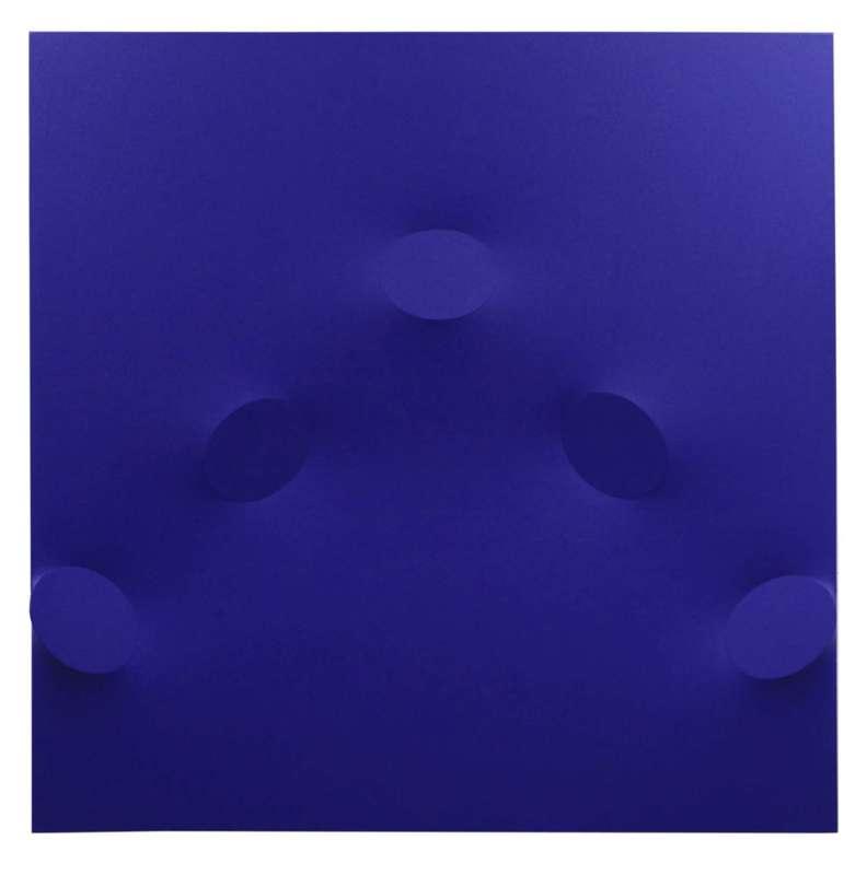 Turi SIMETI - Painting - 5 ovali blu