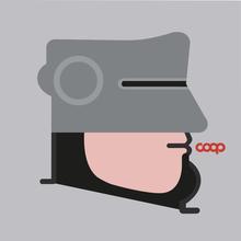 IABO - Sculpture-Volume - RoboCoop (Robocop)