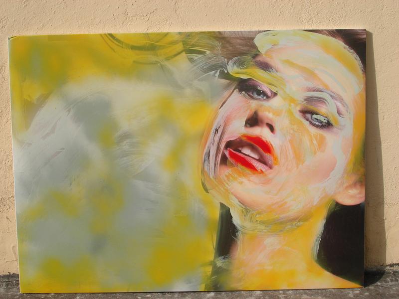 Bruno LOCCI - Painting - Usa e getta