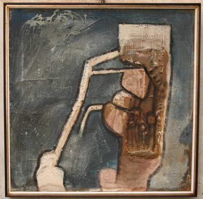 Roberto MATTA - Painting - Le volontaire du secret