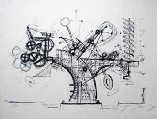 Jean TINGUELY - Print-Multiple - Chaos II